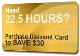 22.5 Hours Virtual Discount Card